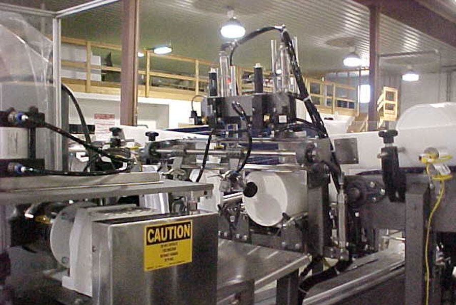 Automated Lidding Equipment
